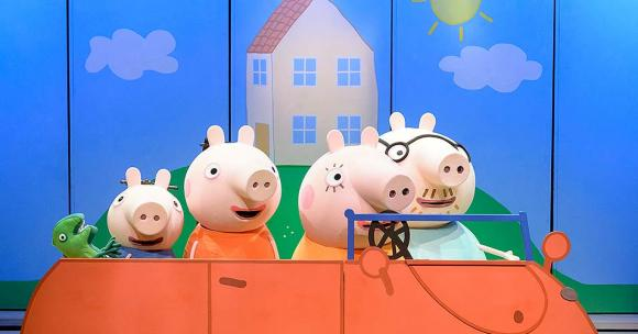 Peppa Pig Live! at Northern Alberta Jubilee Auditorium