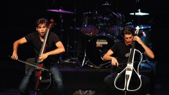 2Cellos at Northern Alberta Jubilee Auditorium