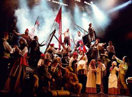 Les Miserables at Northern Alberta Jubilee Auditorium