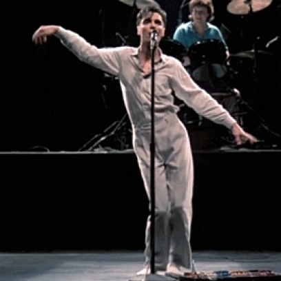 David Byrne at Northern Alberta Jubilee Auditorium
