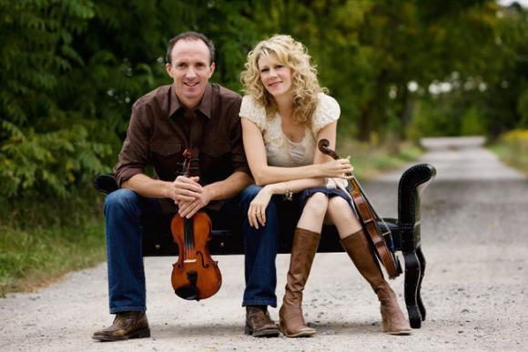 Natalie MacMaster & Donnell Leahy at Northern Alberta Jubilee Auditorium