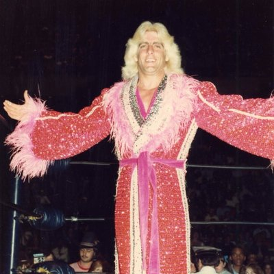Ric Flair at Northern Alberta Jubilee Auditorium