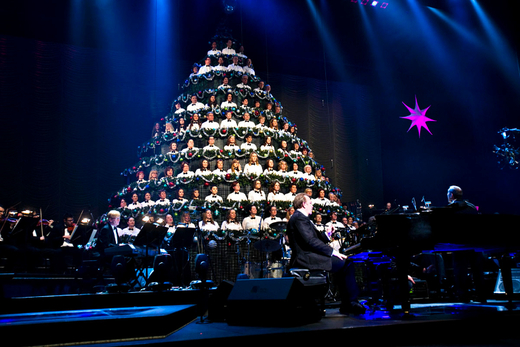 Edmonton Singing Christmas Tree at Northern Alberta Jubilee Auditorium