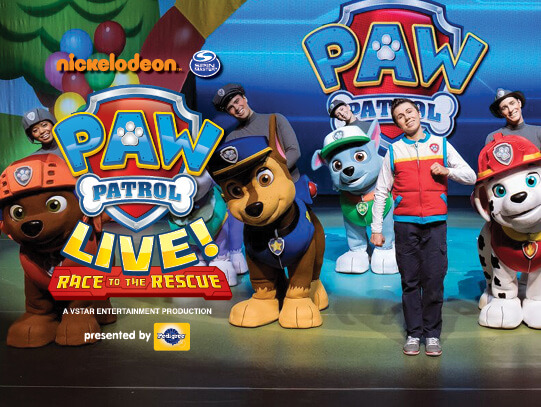 Paw Patrol Live at Northern Alberta Jubilee Auditorium