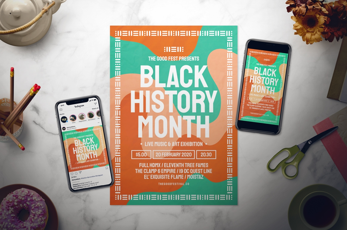 Black History Month 2020 Musical Art and Cultural Show at Northern Alberta Jubilee Auditorium