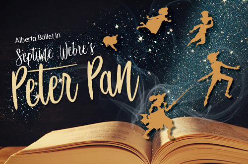 Alberta Ballet: Peter Pan at Northern Alberta Jubilee Auditorium
