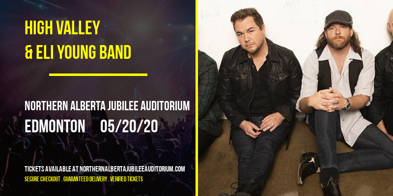 High Valley & Eli Young Band at Northern Alberta Jubilee Auditorium