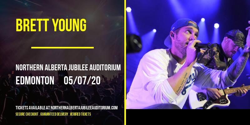 Brett Young [POSTPONED] at Northern Alberta Jubilee Auditorium