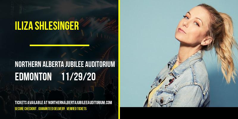 Iliza Shlesinger [CANCELLED] at Northern Alberta Jubilee Auditorium