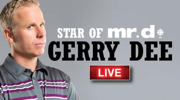 Gerry Dee Live! at Northern Alberta Jubilee Auditorium