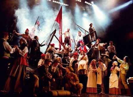 Les Miserables at Northern Alberta Jubilee Auditorium