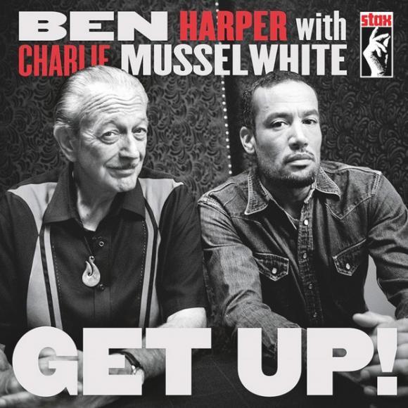 Ben Harper & Charlie Musselwhite at Northern Alberta Jubilee Auditorium