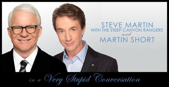 Steve Martin and Martin Short at Northern Alberta Jubilee Auditorium