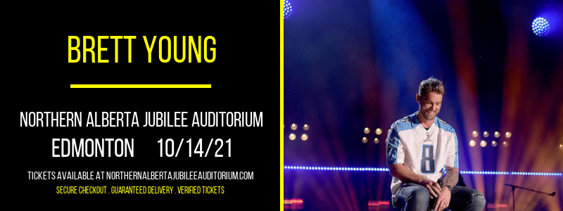 Brett Young [CANCELLED] at Northern Alberta Jubilee Auditorium